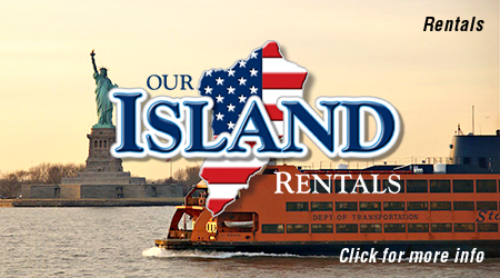 Real Estate, Staten Island Ferry And Statue Of Liberty Photo - Our Island Real Estate